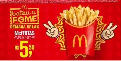 McFritas R$5,50 - Bateu a Fome