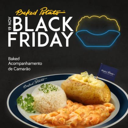 Black Friday: 50% OFF no Baked Acompanhamento de Camarão (SOMENTE 19/11)