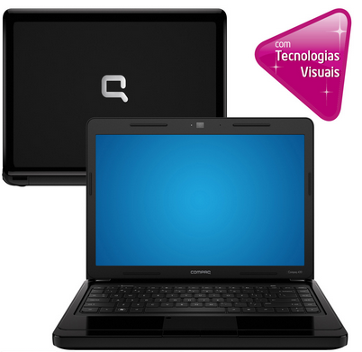 Black Friday! Notebook HP Compaq Presario, de R$1.599 por só R$1.299