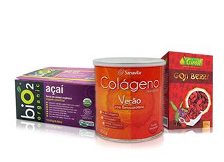 Alimentos Naturais, Vitaminas e Suplementos com crédito de R$15,00 + Frete Grátis nas compras acima de R$150,00!