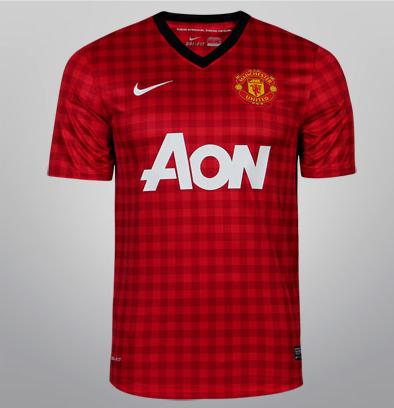 Camisa Nike Manchester United Home 12/13 s/nº!