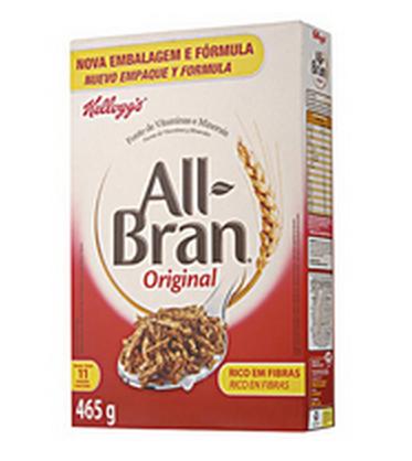 Cereal Matinal Kelloggs All Bran 465g com 30% Off!