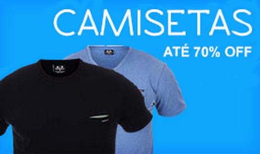 Semana do Consumidor: Compre Camisetas com até 70% de desconto!
