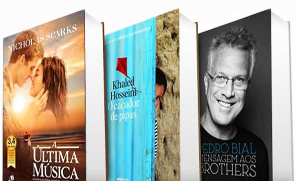 50 Best Sellers com até 50% de desconto! Confira estes grandes sucessos e lançamentos!