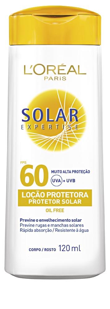 30% Off: Bloqueador Solar Loréal Expertise Fator 30 ou 60 120ml!