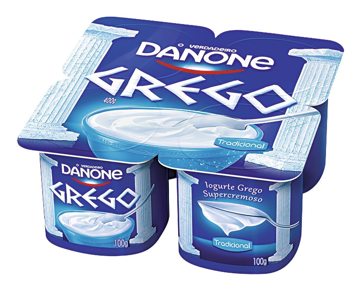 30% Off: Iogurte Grego Danone 400g – vários sabores!