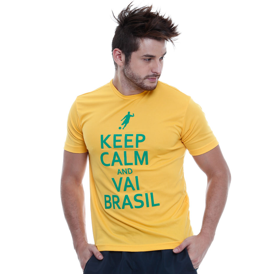 Camiseta Masculina Copa Brasil