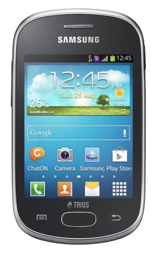 Samsung Galaxy Star Trios Gt S5283 Cinza Desbloqueado 3 Chips Android 4 1 Tela 3 14