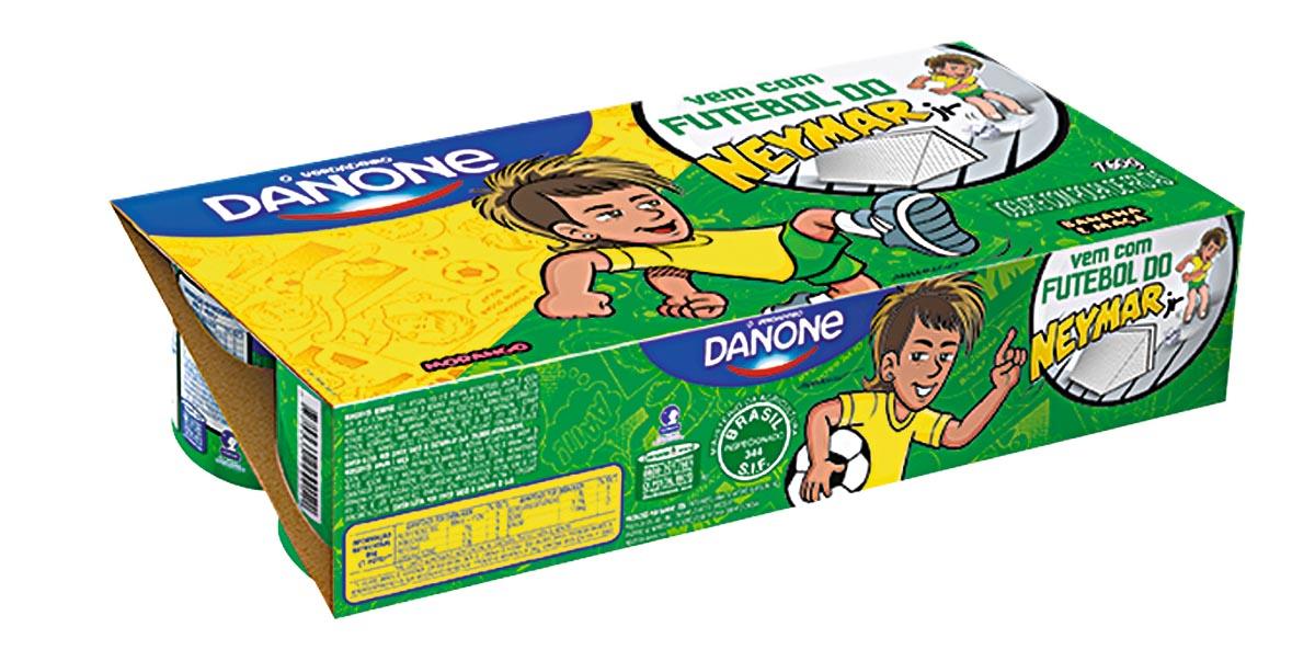 30% Off: Iogurte com Polpa de Morango, Maçã e Banana Danone Kids 760g!