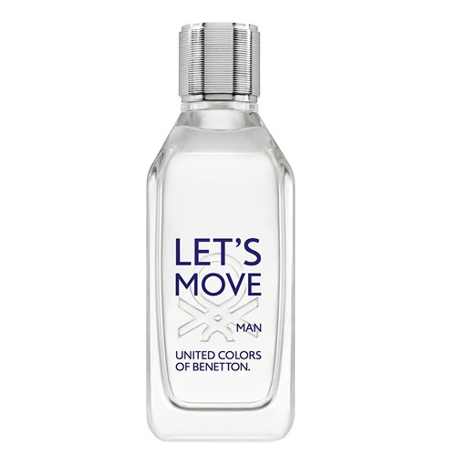 Let S Move Man Eau de Toilette Benetton Perfume Masculino 40ml