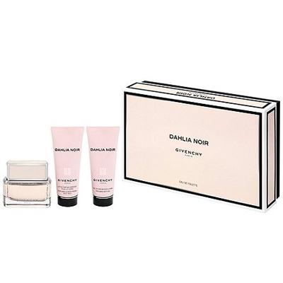 Kit Perfume Dahlia Noir Edt 50ml Body Milk 75ml Shower Gel 75ml Feminino Givenchy