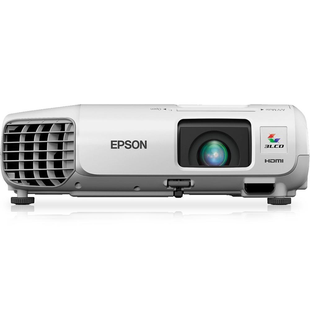 Lancamento Exclusivo Projetor Epson Powerlite X17 Hdmi Usb Branco