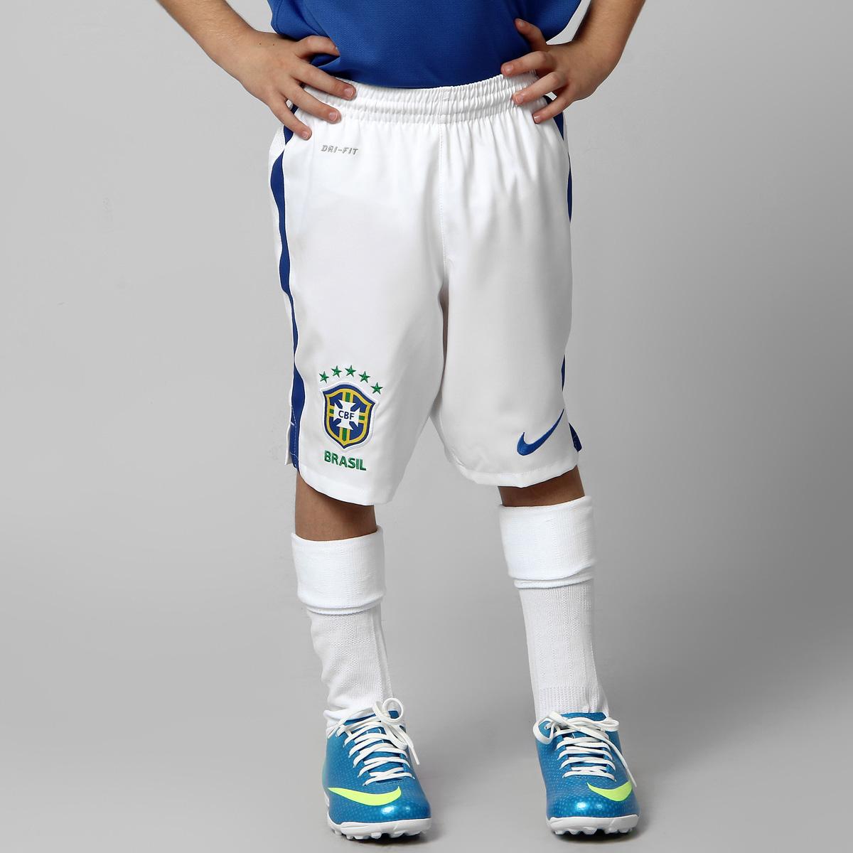 Calcao Nike Selecao Brasil 12 13 Infantil
