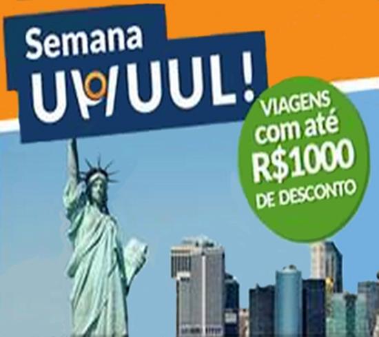 Semana Uhuul! Viagens com até R$1.000 de desconto no Hotel Urbano!