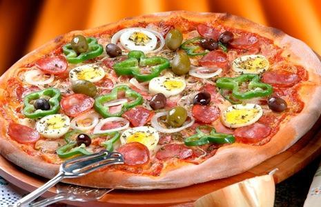 Pizzas deliciosas de vários tamanhos a partir de R$18
