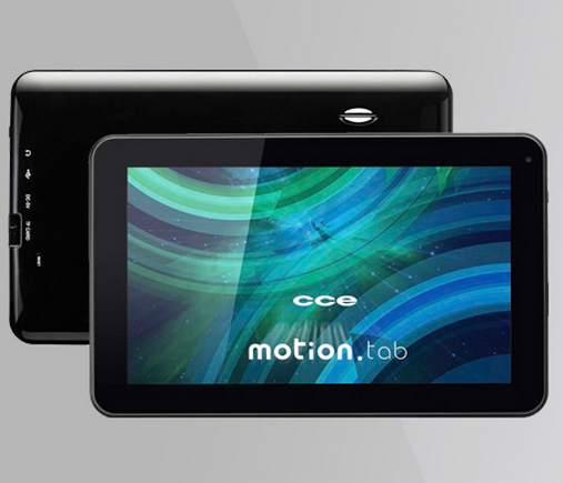 Tablet Cce Tr91 4gb com 50% de desconto!