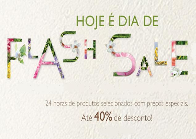 Flash Sale L'Occitane! Ofertas imperdíveis com até 40% de desconto!