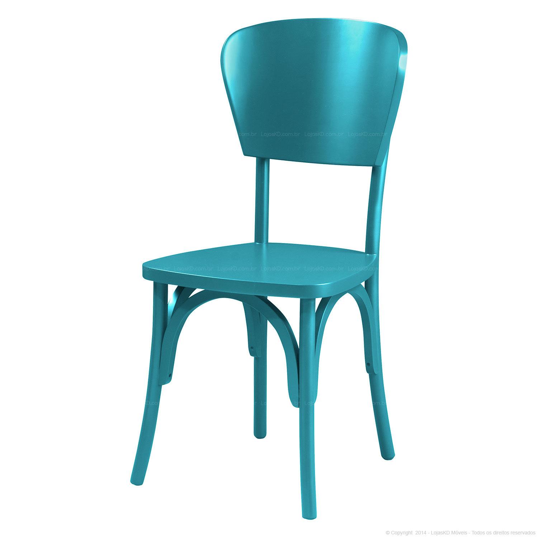 Cadeira Opcao de Encosto 2 Alecrim 1 Peca Azul Retro