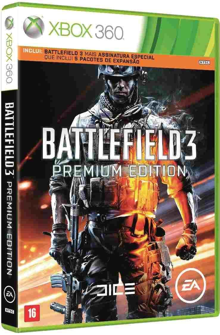 Battlefield 3: Premium Edition X360
