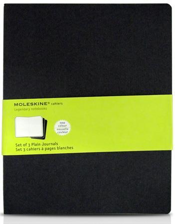 Caderno Classico Moleskine Journals Capa Mole Sem Pauta 19x25 Cm Xlarge Azul Marinho
