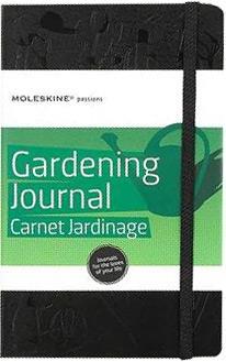 Caderno Moleskine Passions Gardening Journals Capa Dura Pautado 13x21 Cm Large Preto