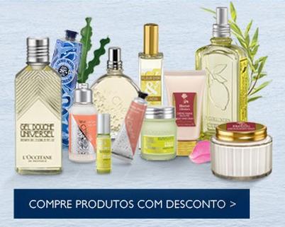 Flash Sale L'Occitane! até 50% de desconto cumulativo em produtos selecionados!