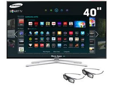 Smart Tv 3d Led 40 polegadas Full Hd Samsung Un40h6400!