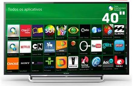Smart Tv Led 40 polegadas Full Hd Sony!