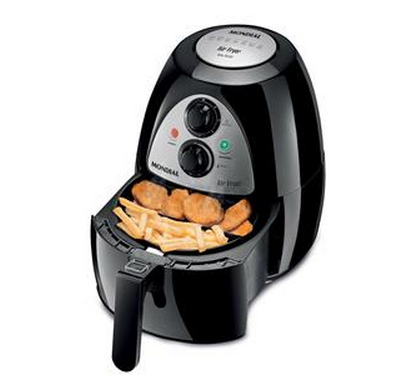 Fritadeira Air Fryer Mondial Af-03 – Preta!