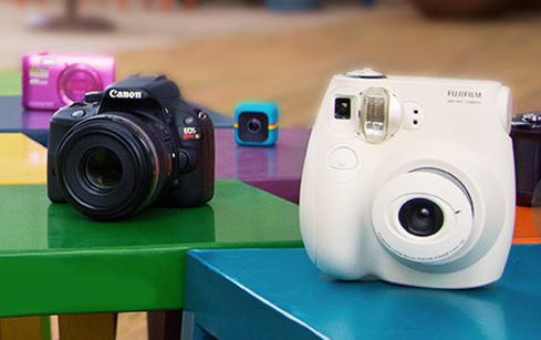 Câmeras com até 40% de desconto!