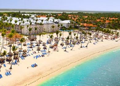 Punta Cana 5 diárias - Aéreo de 6 Cidades + Resort com Comidas e Bebidas à Vontade