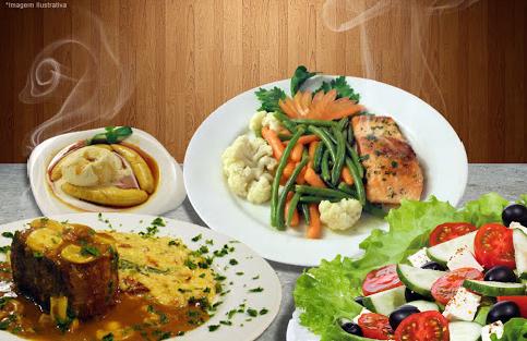 Jantar completo (Entrada + Salada + Prato Principal + Sobremesa) para 2