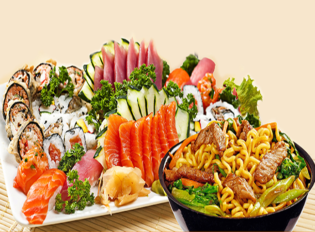 Rodízio Japonês Tradicional para 2