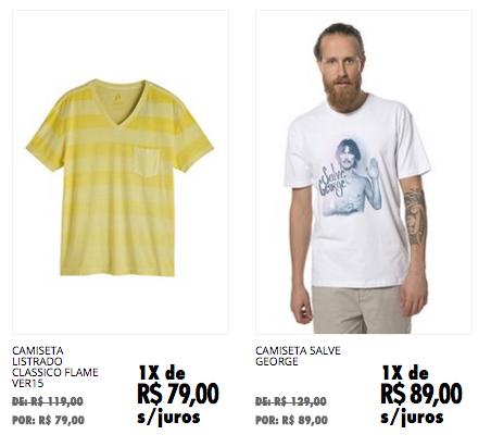 """3) Shop2gether  O outlet do site é uma sempre presente sessão de """"liquida""""  que fica com preços excelentes. É possível aproveitar roupas de marcas  como 284, ... 47106cb0d0"""