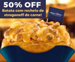 Baked Potato - Promoção cupom desconto