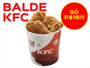 Cupom de desconto Balde KFC