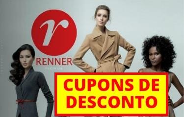 Cupons de desconto lojas Renner