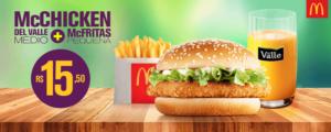 Cupons de desconto McDonalds McChicken