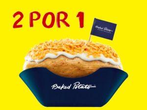 Cupom de desconto Baked Potato 2 por 1