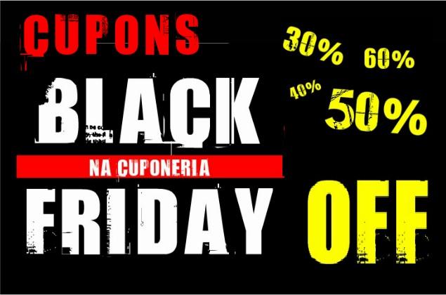 Cupons de desconto para Black Friday na Cuponeria