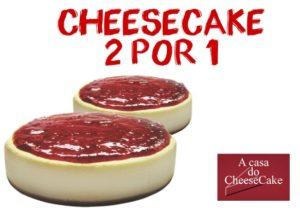 Cupons de desconto Cheesecake 2 por 1