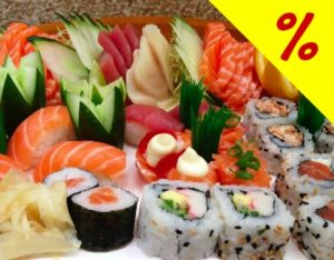 Jow Sushi Bar - Rodízio Japonês completo + Sobremesa por R$43,90