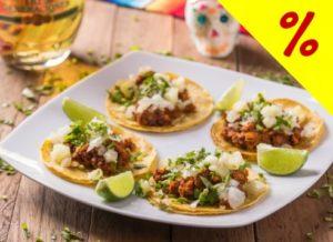 Mexicaníssimo - Rodízio Mexicano completo com 40% de desconto todos os dias