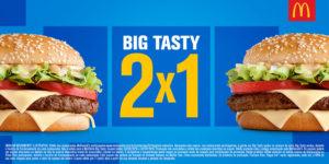 Cupons de desconto Big Tasty 2 por 1