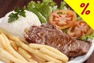 Restaurante Galinha Dourada - Buffet liberado + Suco + Sobremesa por R$17