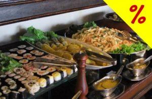 Vascello - Delicioso Buffet Liberado no Almoço por R$27,90