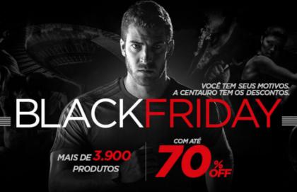 Black Friday Centauro: mais de 3.900 produtos com até 70% de desconto