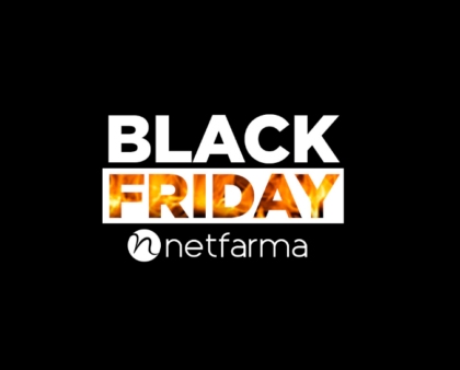 Black Friday Netfarma: mais de 1.000 ofertas com até 80% de desconto!