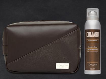 CUPOM: Em qualquer compra, GANHE Nécessaire Exclusivo e Desodorante Cumaru