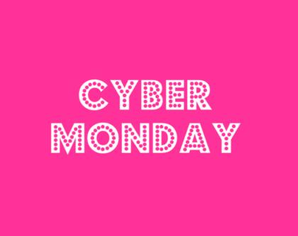 Cyber Monday: o melhor da Black Friday com até 80% de desconto!